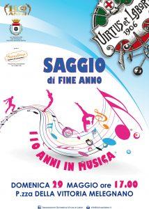 Flyer A3 SAGGIO DI FINE ANNO