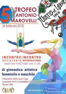VOLANTINO A5 5to TROFEO MAROVELLI